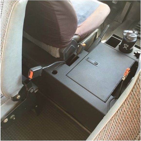 Locking Steel Center Console For The Vanagon Vanagon