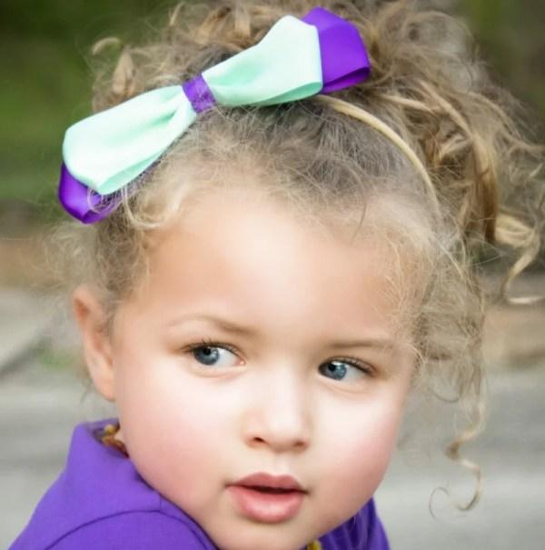cute bow headband for baby girl