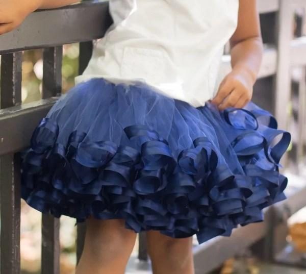 dark blue tutu