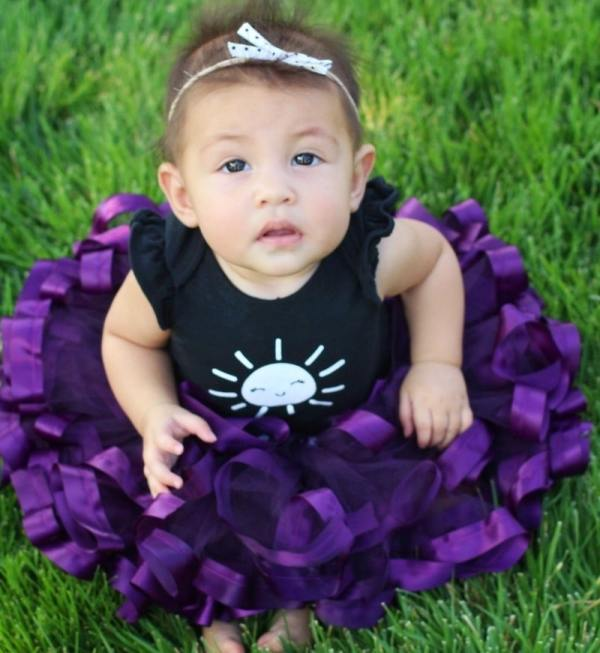 dark purple tutu
