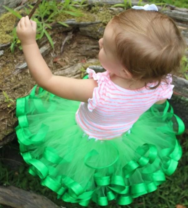green ballet tutu dress