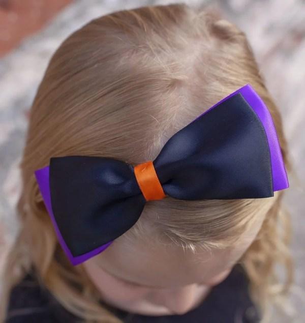 halloween baby bow headbands