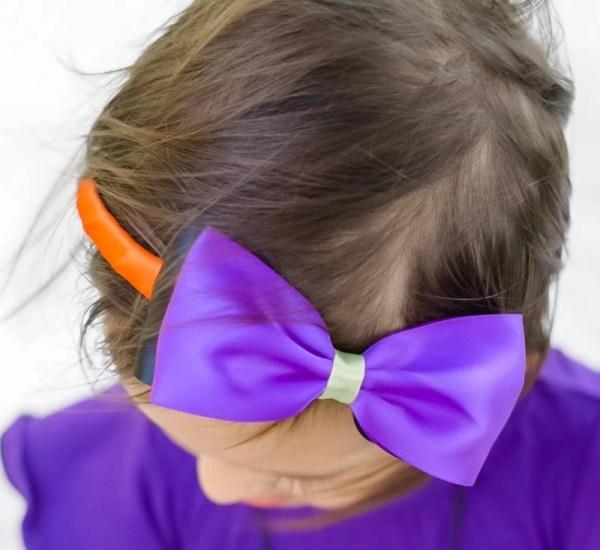 halloween bow headband