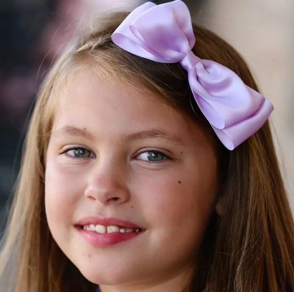 lavender girl headbands