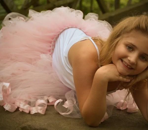 light pink ballerina tutu