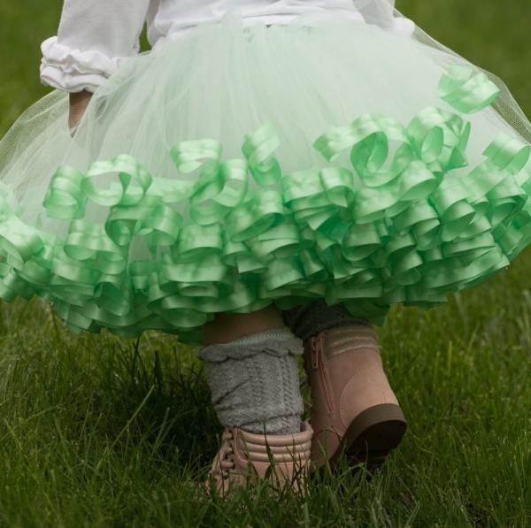 mint tutu dress