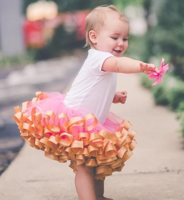 pink and gold princess tutu