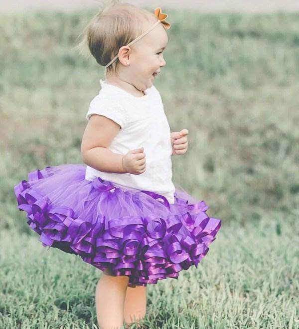 purple tutu dress