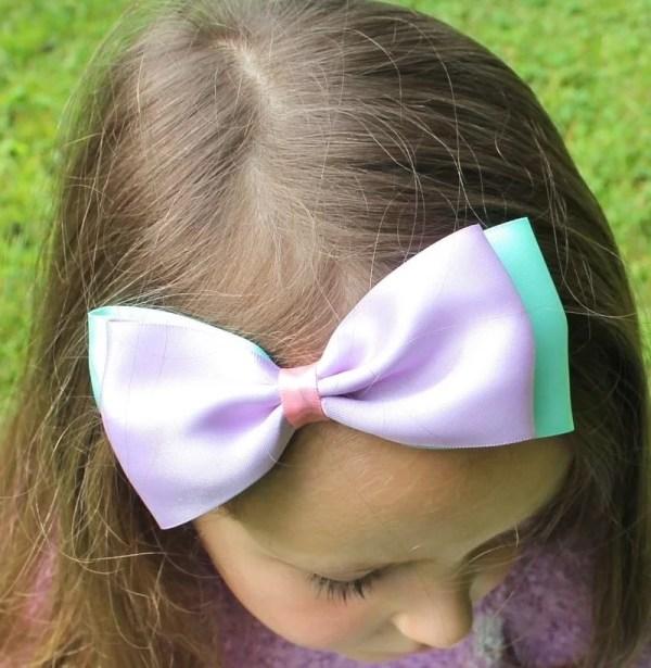spring headband bows