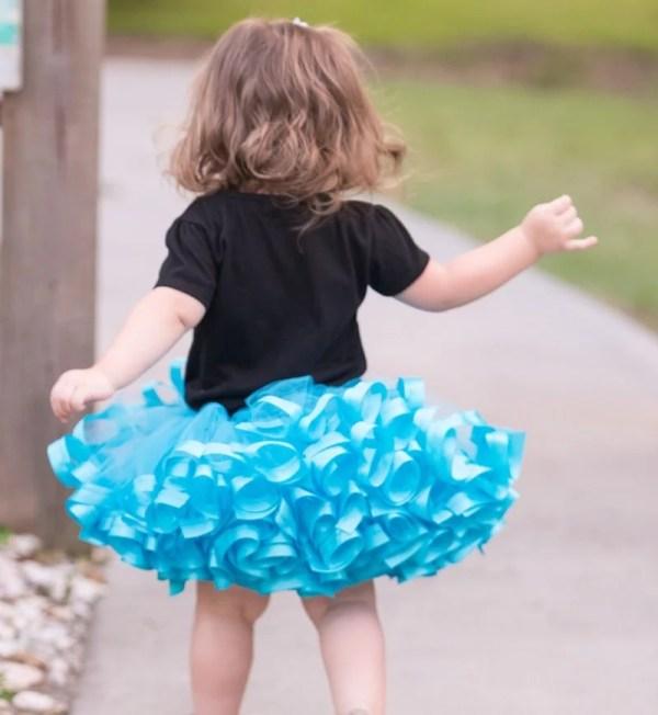 turquoise tutu dress