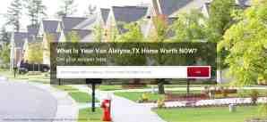 Find Your Van Alstyne Home Value