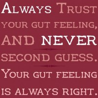 Listen To Your GUT