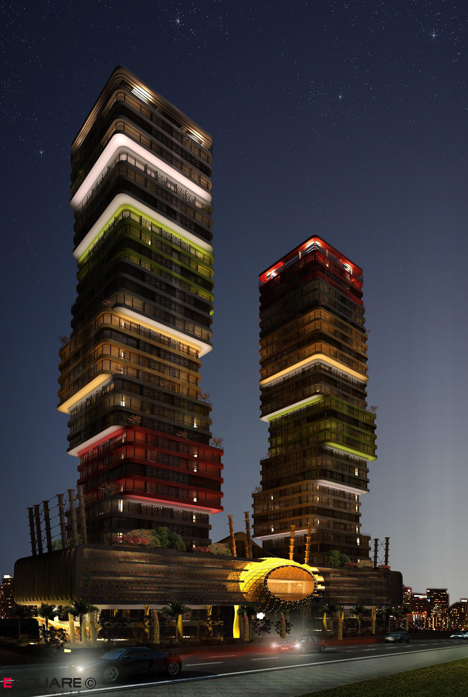 Marina Twin Towers Vanceva Color Studio