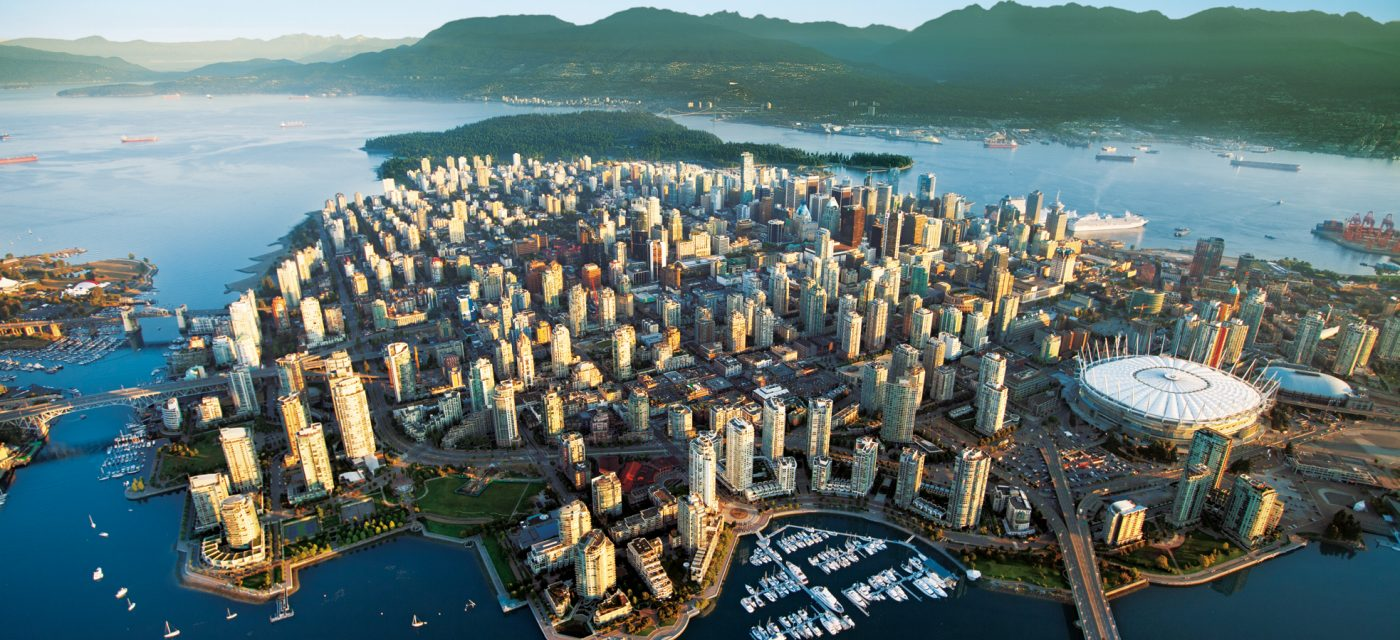 Vancouver the young city of Canada