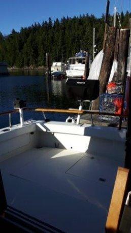fishing platform stern deck
