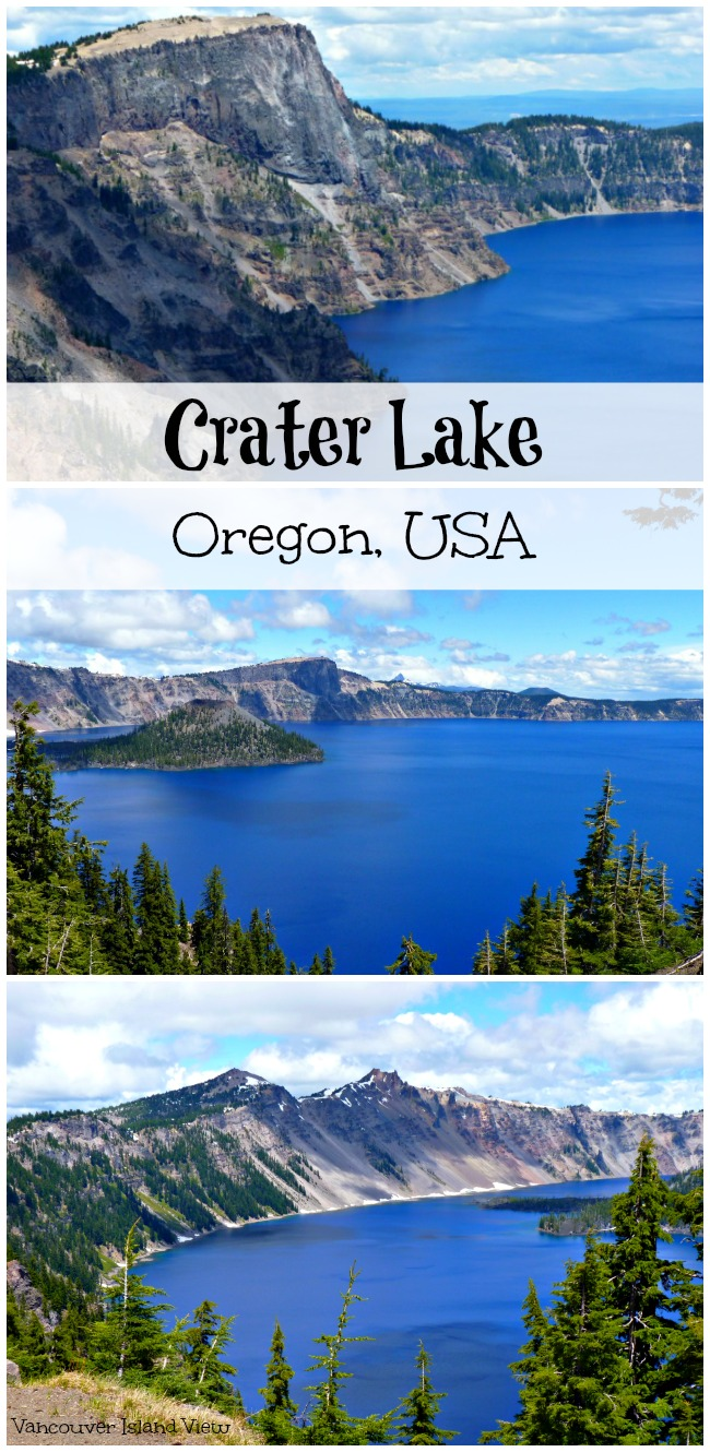 Following in the footsteps of Cheryl Strayed, we too discovered the beauty of Crater Lake in Oregon. If you haven't seen it for yourself, it is an absolute must!