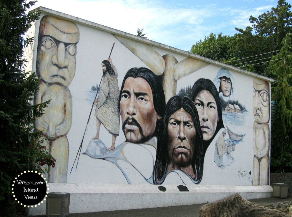 Chemainus Mural - fascinating finds on Vancouver Island