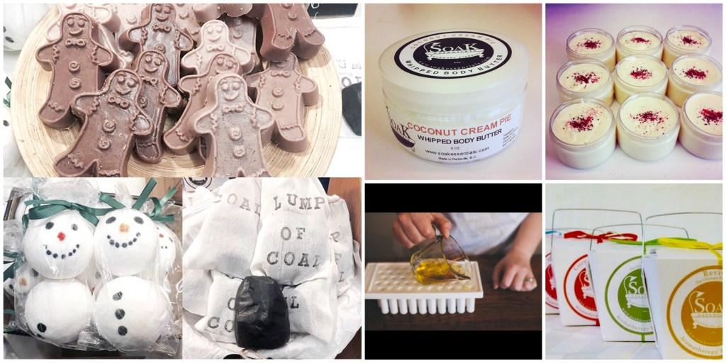Soak Essentials - one of the amazing local artisans featured in our Vancouver Island Gift Guide - Gift Ideas for Her
