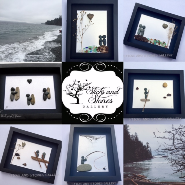 Sticks and Stone Gallery - one of the amazing artisans featured in our Vancouver Island Gift Guide - Gift Ideas for Her