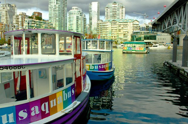 Featured Vancouver Mom, Aquabus