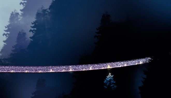 The Best Places to See Christmas Lights: Canyon Lights