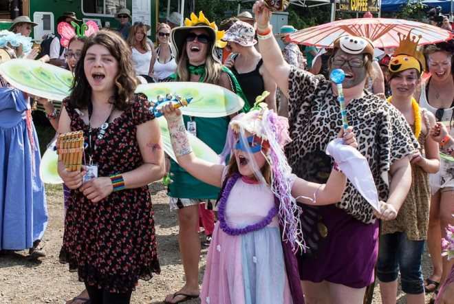 Vancouver Island Music Festival kids