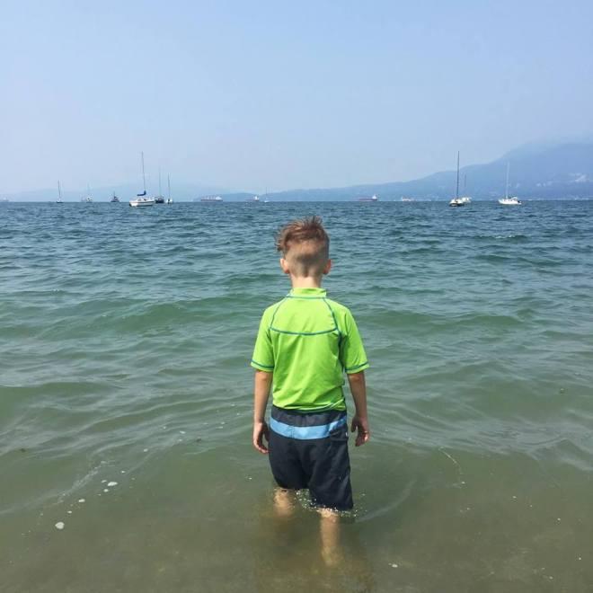 jericho beach swimming