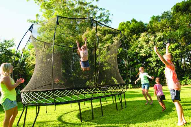 Enter the Springfree Trampoline Contest