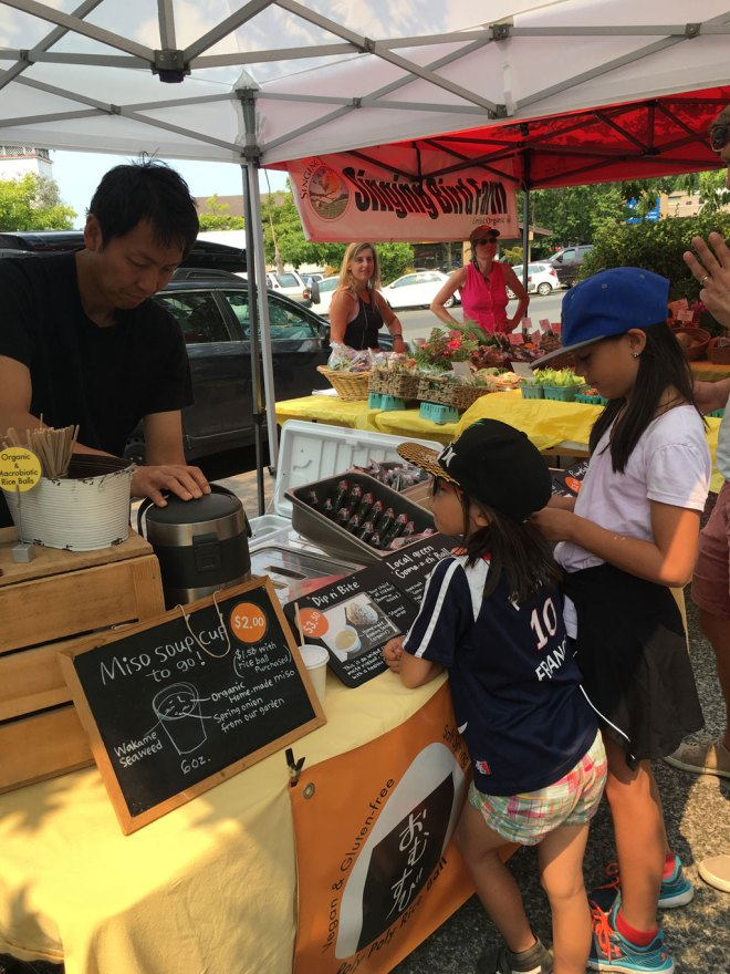Salt Spring Island for Kids - Farmers Market