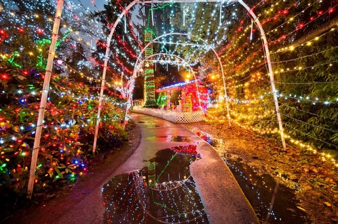 Vancouver Christmas Lights.15 Dazzling Holiday Light Displays In Metro Vancouver