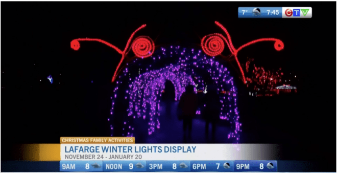 Top Five Holiday Light Displays in Vancouver for Families