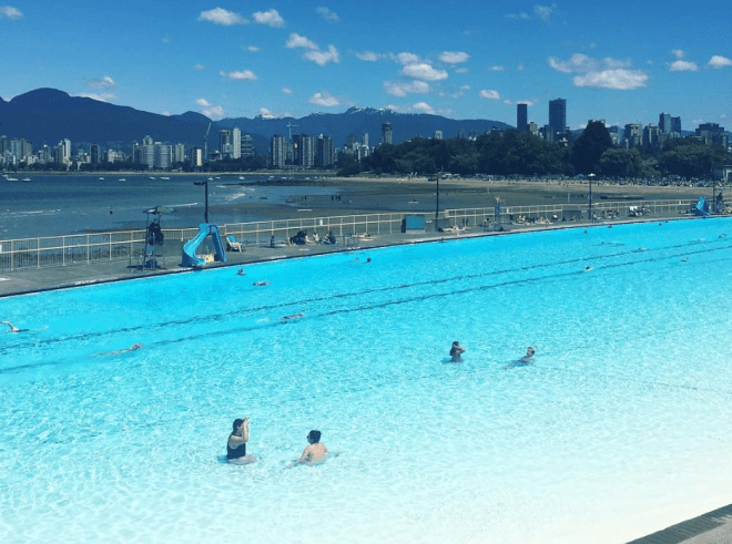 Kits pool - Top Outdoor Pools in Vancouver