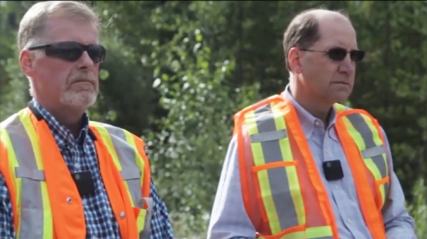 Chevron American executives request permission to pass First Nations checkpoint