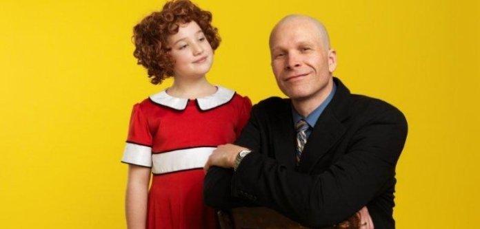 Julia MacLean is Annie and Steve Maddock is