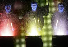 The Blue Man Group lands on Vancouver's Queen Elizabeth Theatre stage beginning March 25.