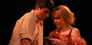 Adam Charles and Julie Casselman in Darling, A Musical.