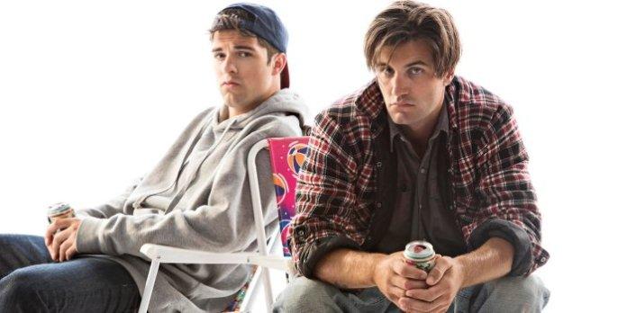 Markian Tarasiuk and Tom Krushkowski in the Speakeasy Theatre production of 3...2...1