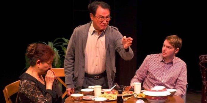 The cast of Ga Ting (Family). Photo by Raymond Shun.