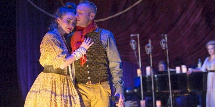 Lauren Jackson and Josh Epstein in Onegin. Photo by David Cooper