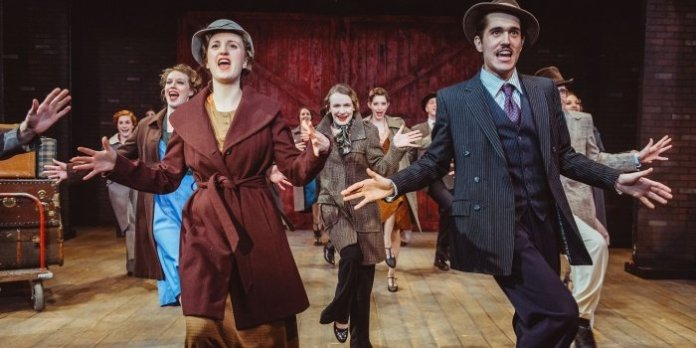 The cast of 42nd Street shine in Julie Tomaino choreography. Photo by David Cooper.