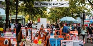 Now in its 33rd year, the Vancouver Fringe Festival has grown from 4,000 attendees in 1985 to 40,000 today. Photo by Clayton Wong.