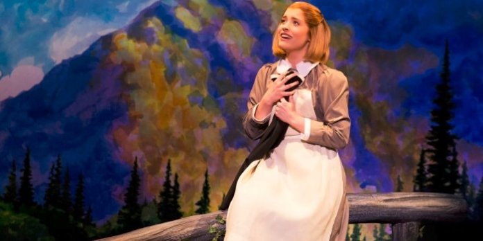 Jill-Christine Wiley as Maria Rainer in The Sound of Music. Photo by Matthew Murphy.
