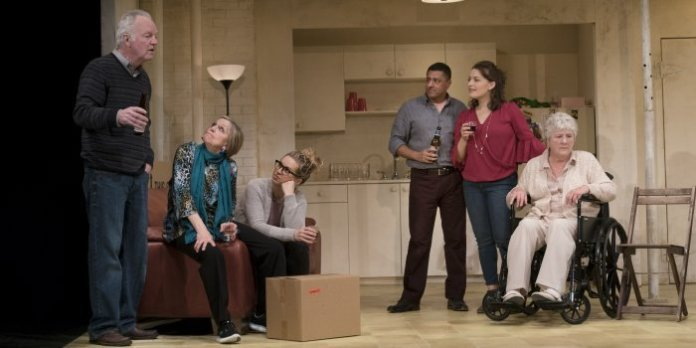 The cast of the Arts Club Theatre Company production of The Humans. Photo by David Cooper.