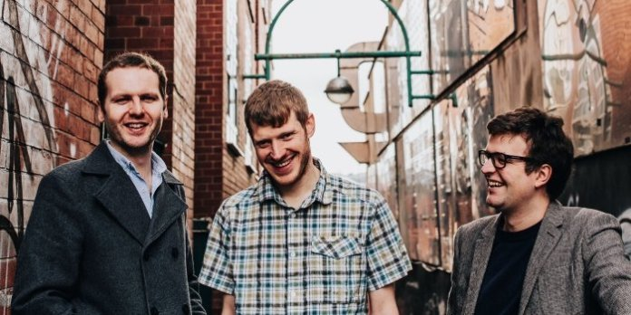 The Young'uns (LtR): Sean Cooney, David Eagle, and Michael Hughes. Photo by Elly Lucas.