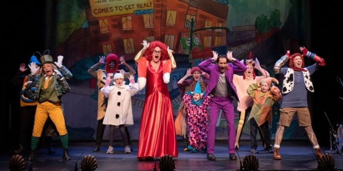 """Along with its professional cast, East Van Panto: Pinocchio also features a rotating group of """"Panto Kids"""". Photo by Emily Cooper."""