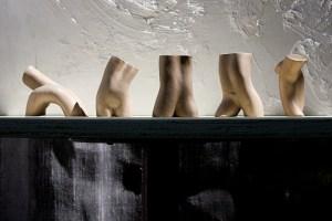 bronze figurative sculpture by Geemon Xin Meng, Vancouver Sculpture Studio