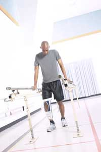 Man in Physical Rehab