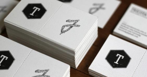 die cut cards