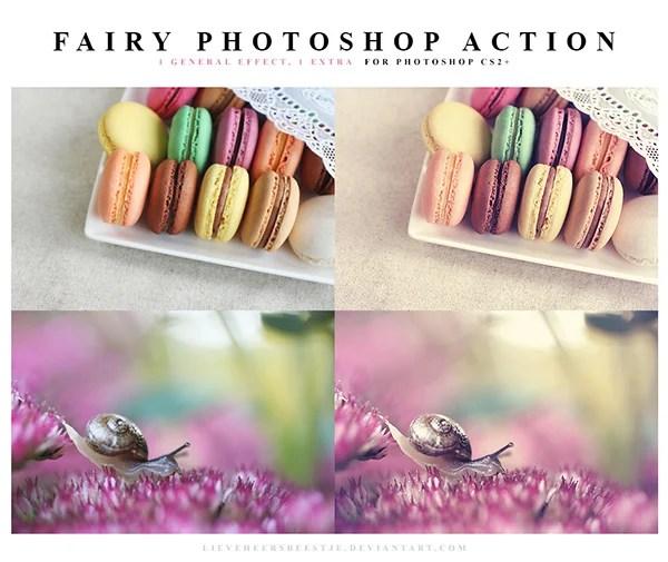 Fairy Photoshop Action