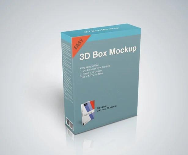 Download Product Box Mockup PSD - Vandelay Design